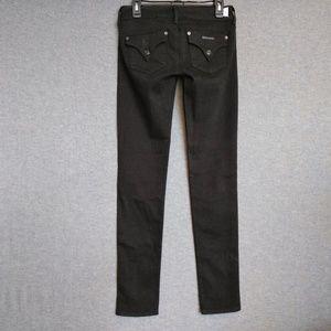 Hudson Collin Skinny  Jeans Flap Pkts Blk